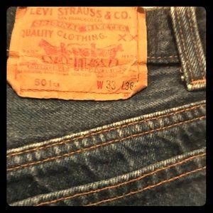 501 Levi's 33x36